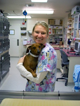 Veterinary Assistants: Laura